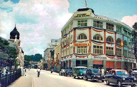 Jalan Tun Perak in the 60s