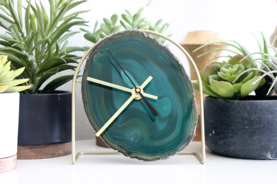 Inspire better time-keeping with beautiful clocks around the house.