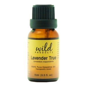 Make it smell like hygge with Lavender True essential oil from Wild Products