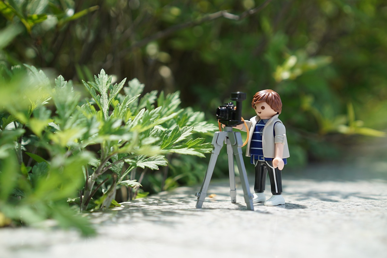 A tripod's function goes beyond just having a hand-free photo but it helps to take sharper photographs.