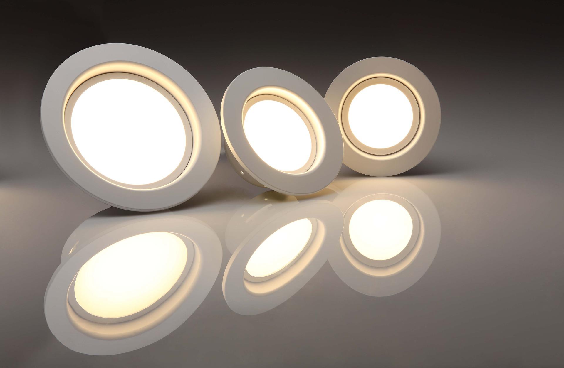 Energy saving light bulbs will go a long way.