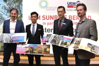 UEM Sunrise in partnership with Foster + Partners presents Arcoris Mont Kiara