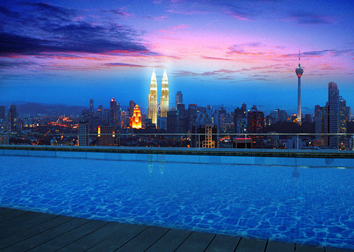 Regalia's infinity pools the best yet in Kuala Lumpur