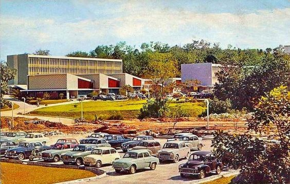 University Malaysia in the 70s.